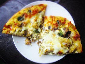 Cook: Mushroom and Artichoke Pizza