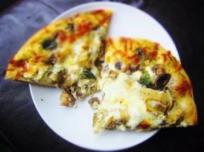 Cook: Mushroom and ArtichokePizza