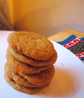 Cook: Spiced Brown SugarCookies