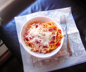 Cook: Linguine All'Amatriciana