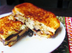 Cook: Portobello and Bleu Cheese Panini