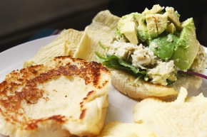 Cook: Avocado Crab Salad Sandwiches