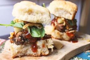 Cook: Grilled Barbecue Lamb Sliders