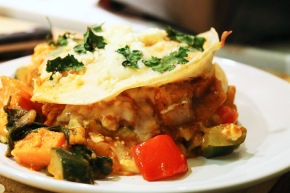 Cook: Vegetable Enchilada Bake