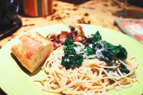 Cook: Creamy Lemon Pasta withSpinach