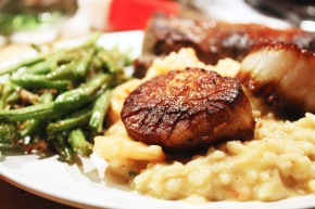 Cook: Seafood Risotto with SearedScallops