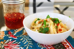 Cook: Thai-Style Noodle Stir Fry with Chili-InfusedVinegar