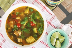 Cook: Chicken and Avocado Soup