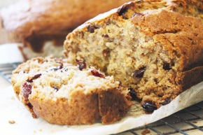 Giveaway: {Signed and Sealed} Gluten-Free Zucchini Bread with Dried Cranberries