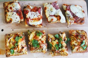Cook: French Bread Pizzas, Two Ways
