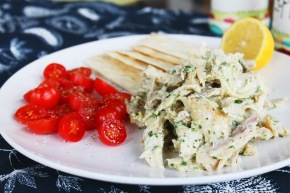 Cook: Chicken Salad with Lemon and Pesto