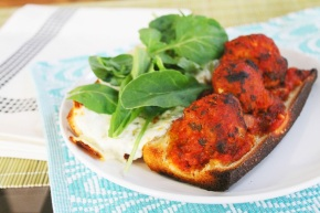Cook: Slow Cooker Turkey Meatball Subs