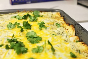 Cook: Honey Lime and Cilantro Chicken Enchiladas