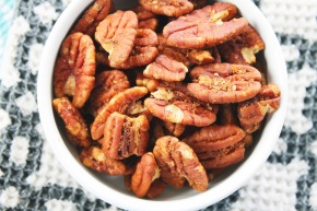 Giveaway: {Signed and Sealed} Pumpkin Spiced Pecans