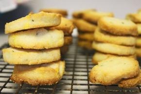 Cook: Slice-and-Bake Rosemary ButterCookies