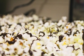 Giveaway: {Signed and Sealed} Chocolate Drizzle Salted Kettle Corn