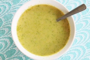 Cook: Low-Fat Broccoli Cheddar Soup