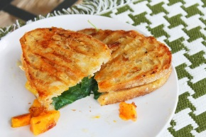 Cook: Butternut Squash, Kale and Brie Panini