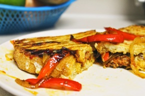 Cook: Sausage and Peppers Panini