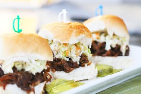 Cook: Pulled Pork Sliders with Tangy Slaw