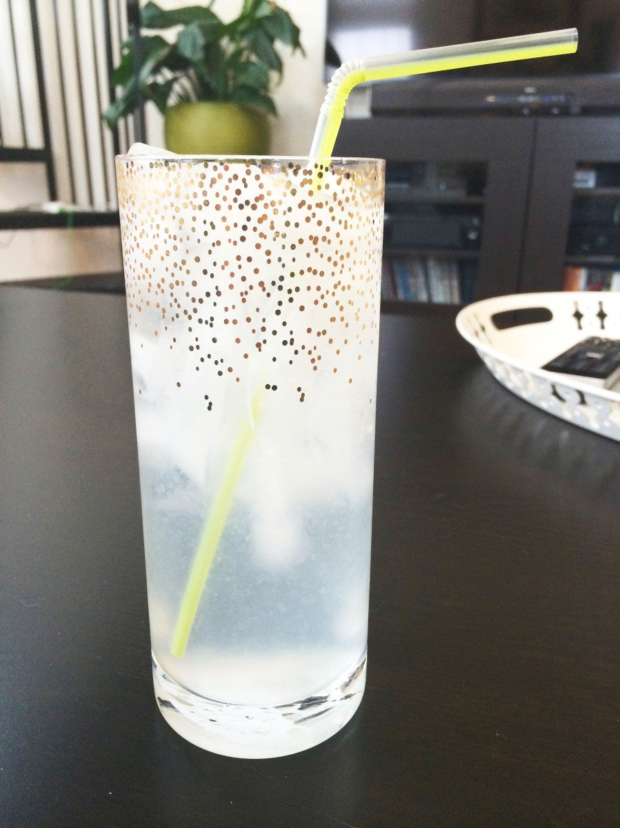 Drink: #FancyDrinkFriday - Kansas City Ice Water