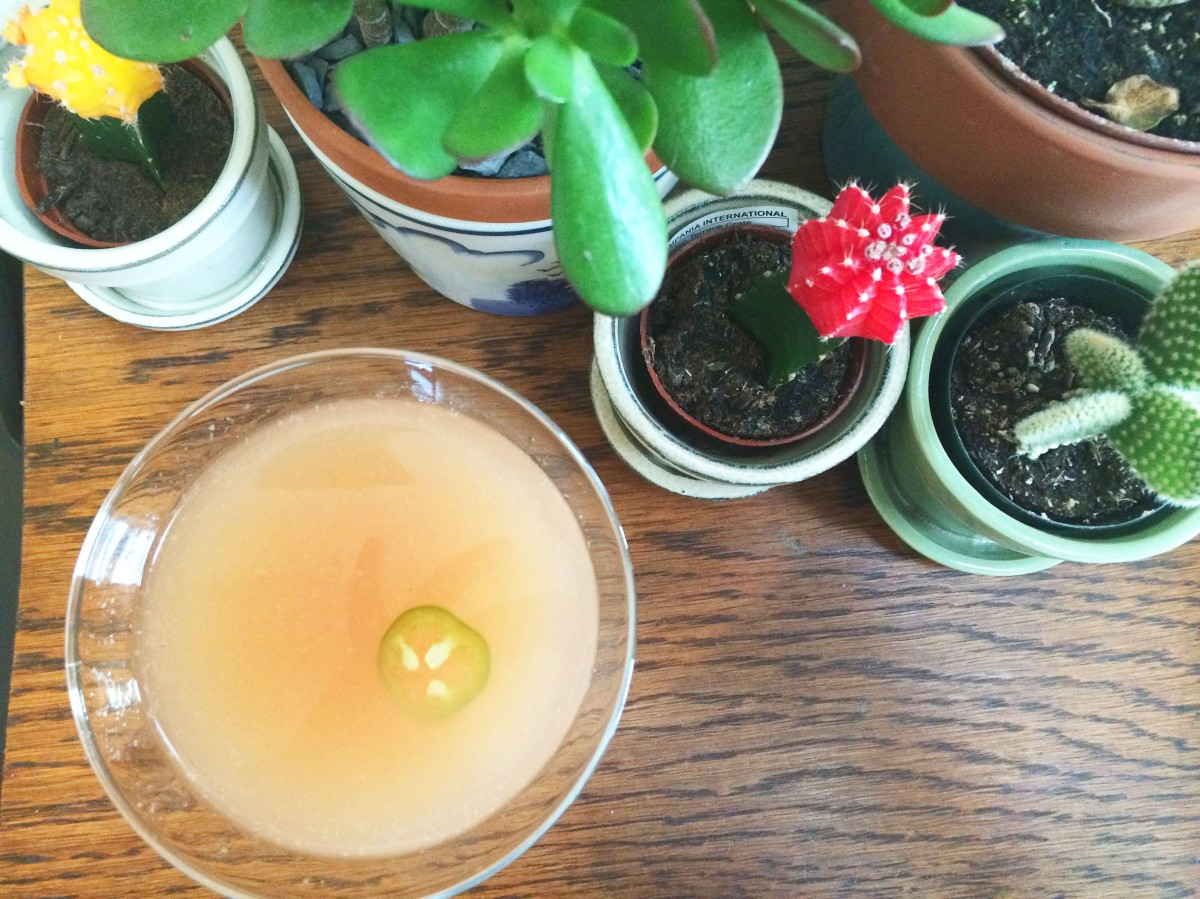 Drink: #FancyDrinkFriday - The Spicy Greyhound