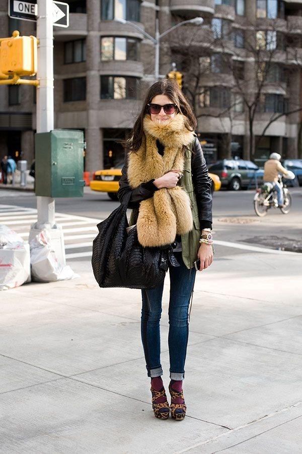 fur-scarf