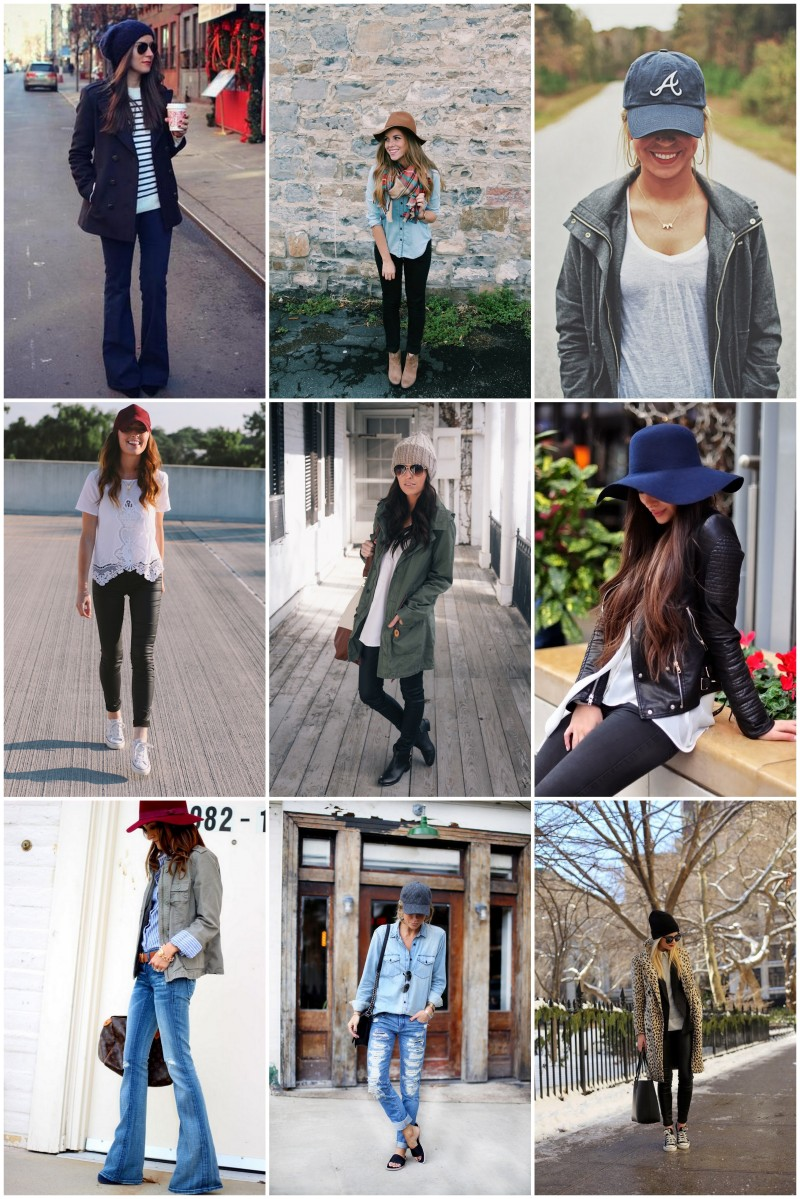 Wear: 3 Hat Styles, Perfect for Transitional Dressing