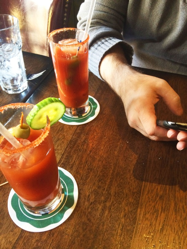 Bloody Mary Brunch in Soho