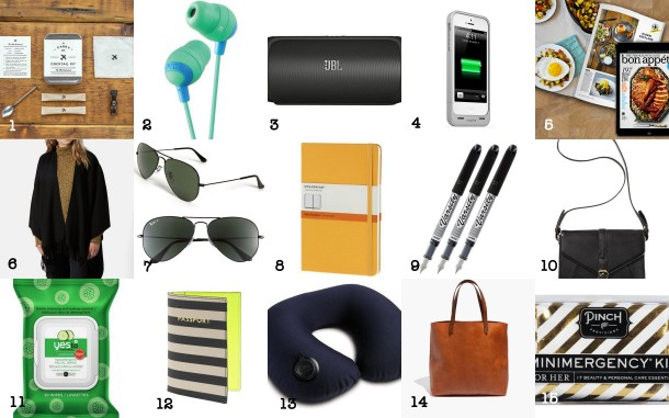 travel gift guide 2014