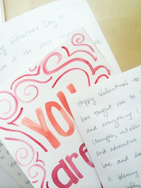 DIY: All about YOU Valentine's Day Cards